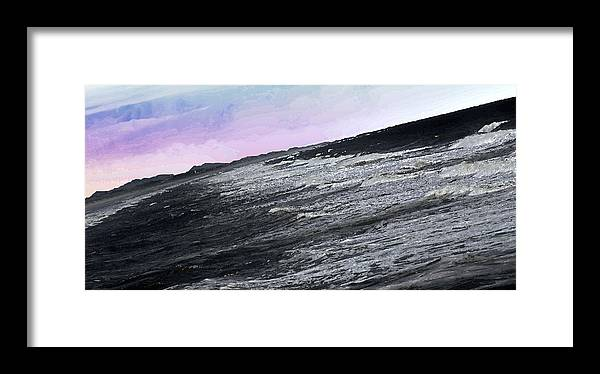 Landscapes Framed Print featuring the digital art Listen To The Music by Chick Phillips
