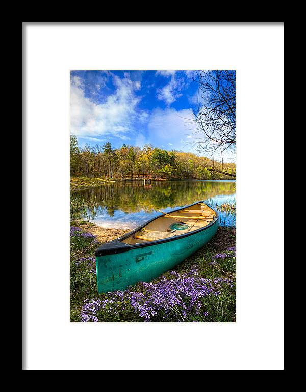 Appalachia Framed Print featuring the photograph Little Bit Of Heaven by Debra and Dave Vanderlaan