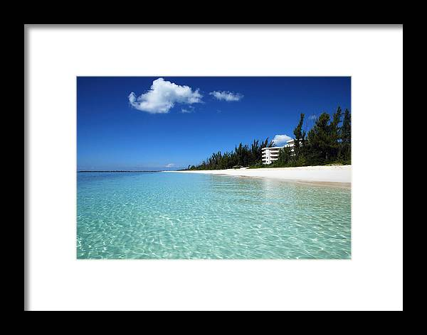 Nature Framed Print featuring the photograph Little Cloud by Ramunas Bruzas