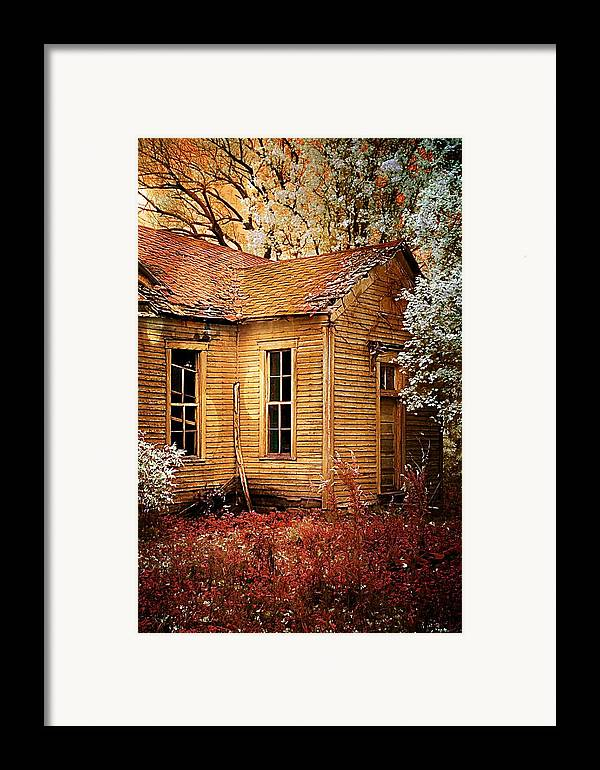 Old School House Framed Print featuring the photograph Little Old School House II by Julie Dant