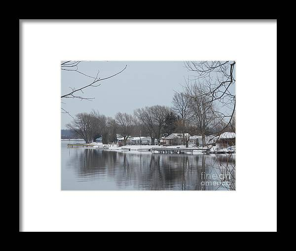 River Framed Print featuring the photograph Living By The River by Margaret McDermott