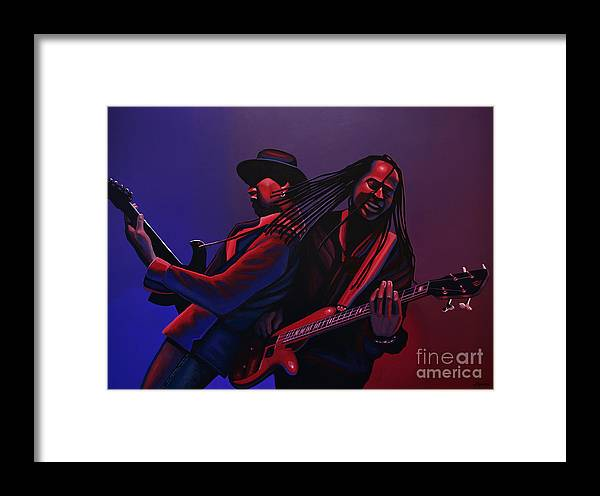Living Colour Framed Print featuring the painting Living Colour Painting by Paul Meijering