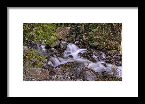 Waterfalls Framed Print featuring the photograph Living Waters by Bill Sherrell