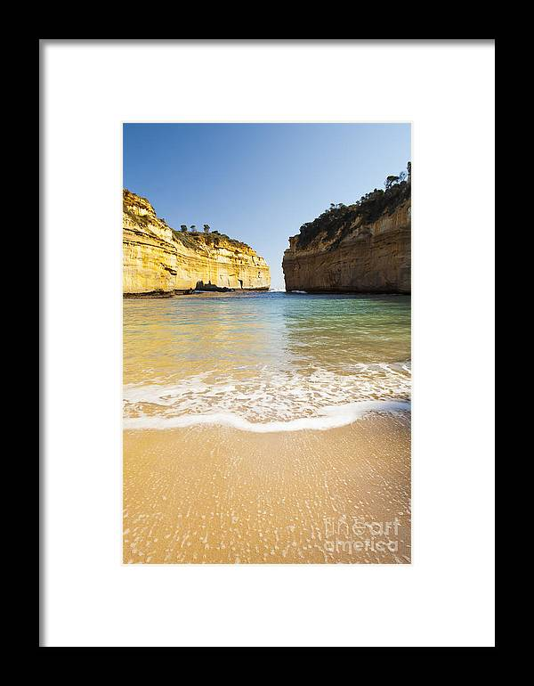 Australia Framed Print featuring the photograph Loch Ard Gorge by Tim Hester