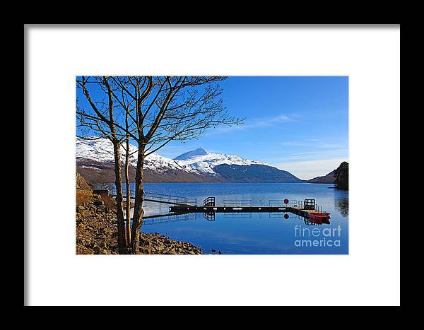 Landscape Framed Print featuring the photograph Loch Lomond by Lynne Sutherland
