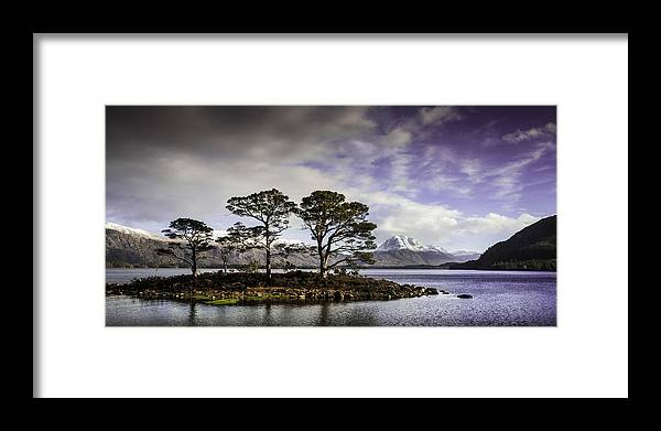 Loch Maree Framed Print featuring the photograph Loch Maree - Scottish Highlands by Bob Falconer