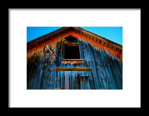 Barn Framed Print featuring the photograph Loft by Portlens Photography