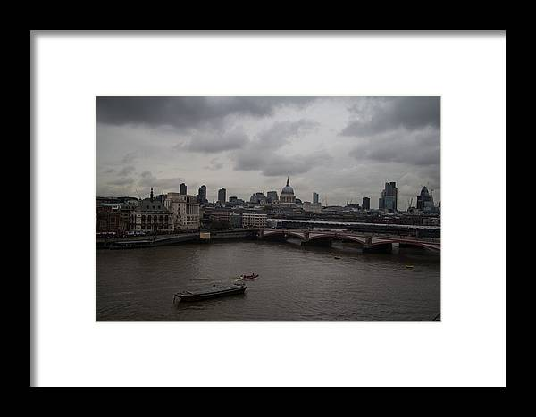 London Framed Print featuring the photograph London Landscape by Dawn OConnor