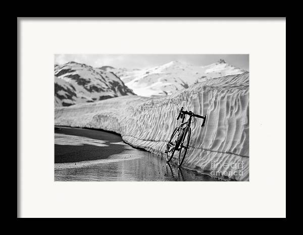 Bicycle Framed Print featuring the photograph Lonely Bike by Maurizio Bacciarini