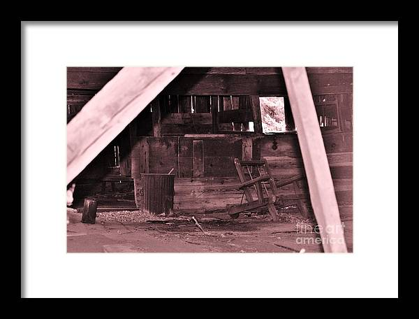 Americana Framed Print featuring the photograph Long Gone by Joseph Perno