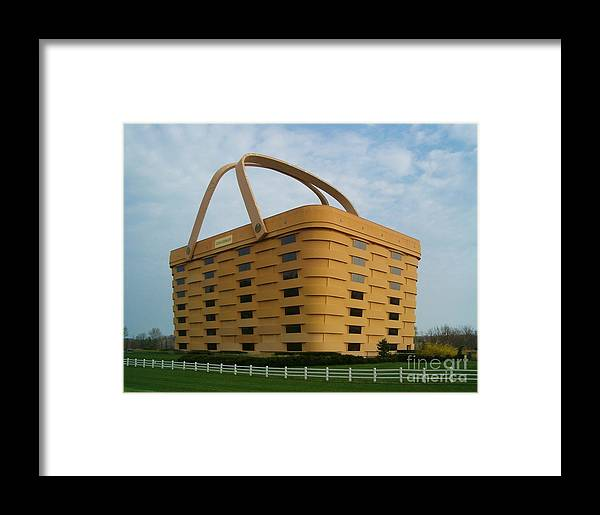 Longaberger Framed Print featuring the photograph Longaberger Basket Company Nf by Sara Raber