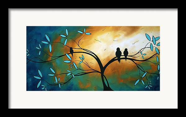 Art Framed Print featuring the painting Longing By Madart by Megan Duncanson