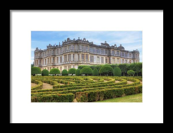 Longleat House Framed Print featuring the photograph Longleat House - Wiltshire by Joana Kruse