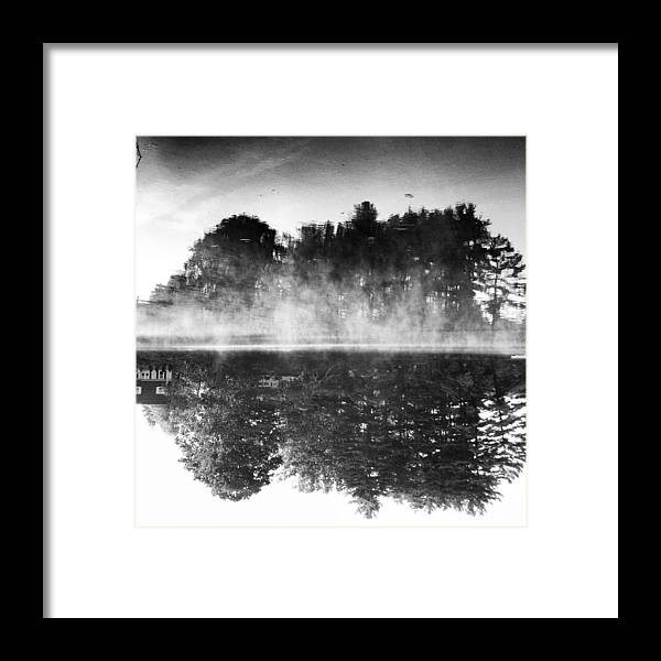 Framed Print featuring the photograph Look Again Its Upside Down by Brandon Lacrosse