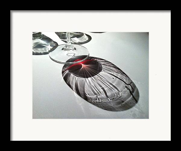 Wine Framed Print featuring the photograph Look At Those Legs by Anna Villarreal Garbis