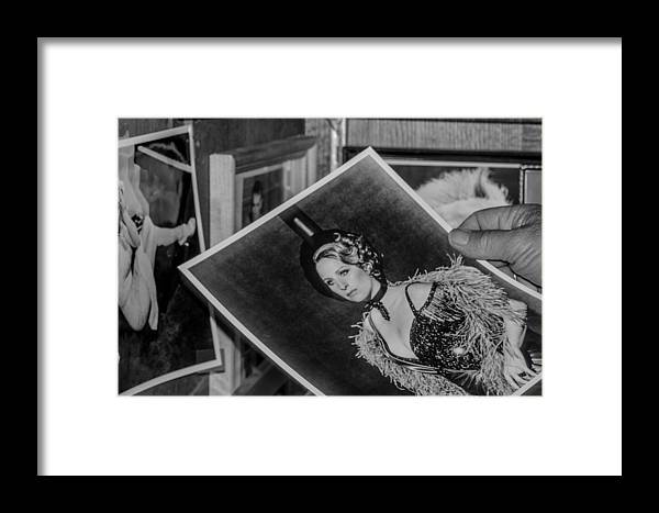 Antique Framed Print featuring the photograph Look by Marit Runyon