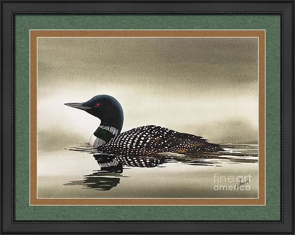 Loon in Still Waters by James Williamson