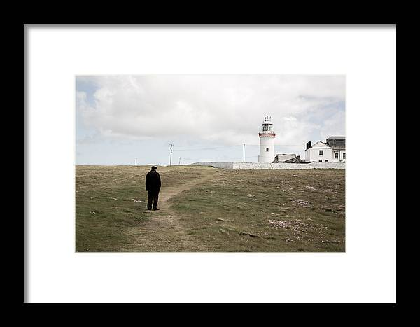 Landscape Framed Print featuring the photograph Loophead Lighthouse I by MaryGail Perkins