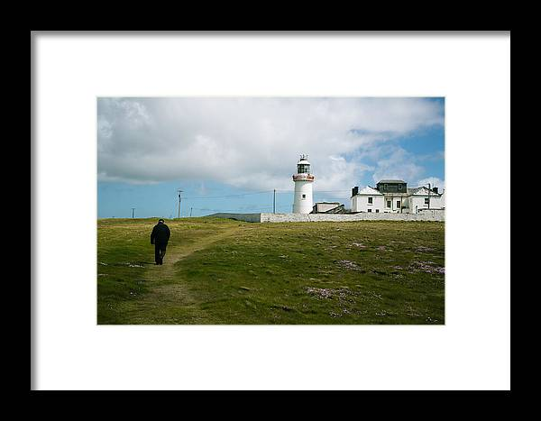 Landscape Framed Print featuring the photograph Loophead Lighthouse IIi by MaryGail Perkins