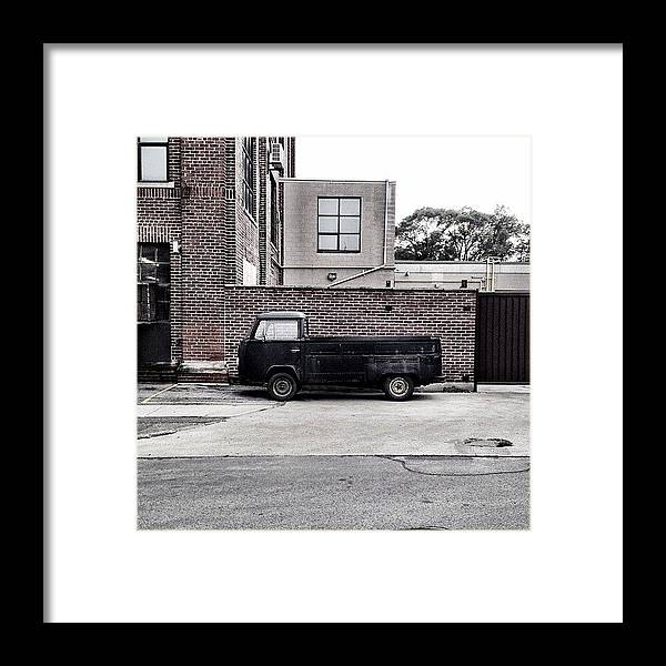 Car Framed Print featuring the photograph Lorry by Kreddible Trout