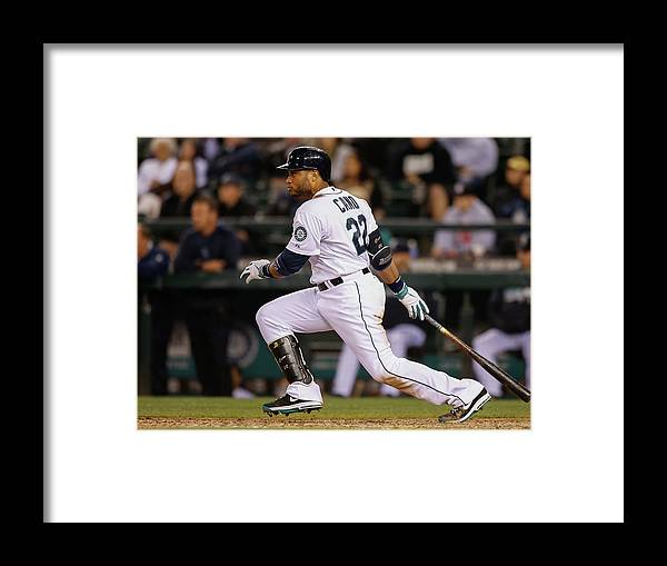 Ninth Inning Framed Print featuring the photograph Los Angeles Angels Of Anaheim V Seattle by Otto Greule Jr