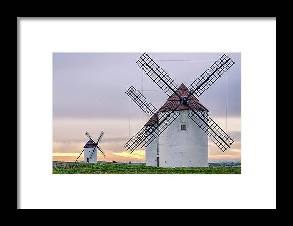 Environmental Conservation Framed Print featuring the photograph Los Gigantes Del Quijote by Eddy Photo