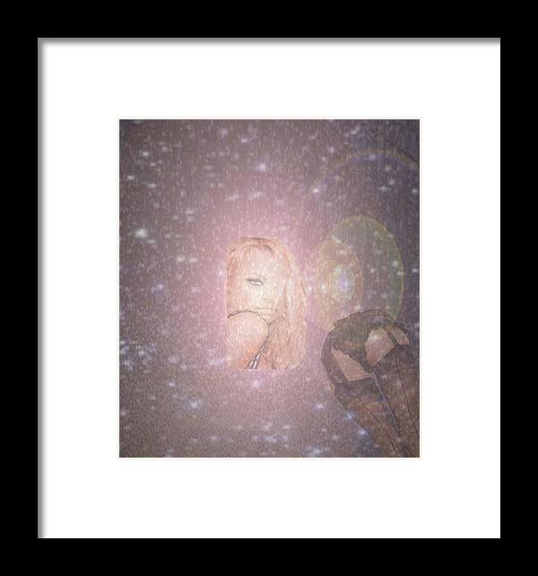 Woman Framed Print featuring the photograph Lost Emotions by De Beall