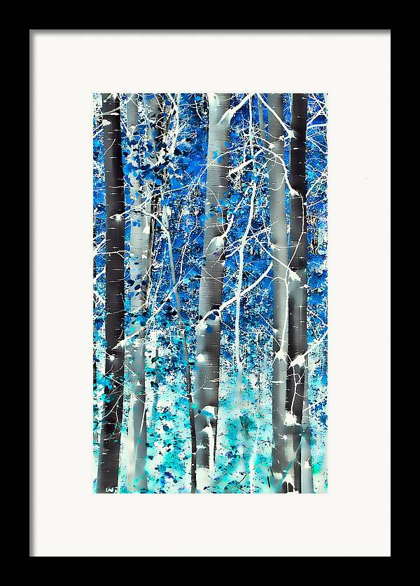 Aspens Framed Print featuring the photograph Lost In A Dream by Don Schwartz