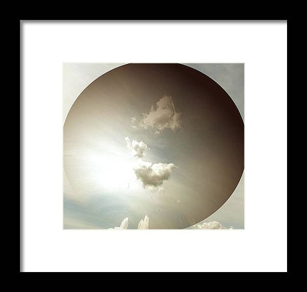 Sky Framed Print featuring the photograph Lost In Space by Pamela Hyde Wilson