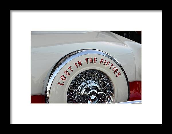 Lost In The Fifties Framed Print featuring the photograph Lost In The Fifties by David Lee Thompson