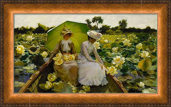 Lotus Lilies by Charles Courtney Curran
