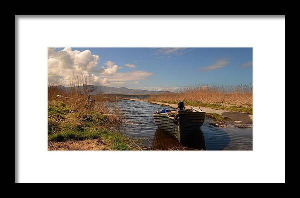 Lough Gill Framed Print featuring the photograph Lough Gill In Co.kerry by Barbara Walsh