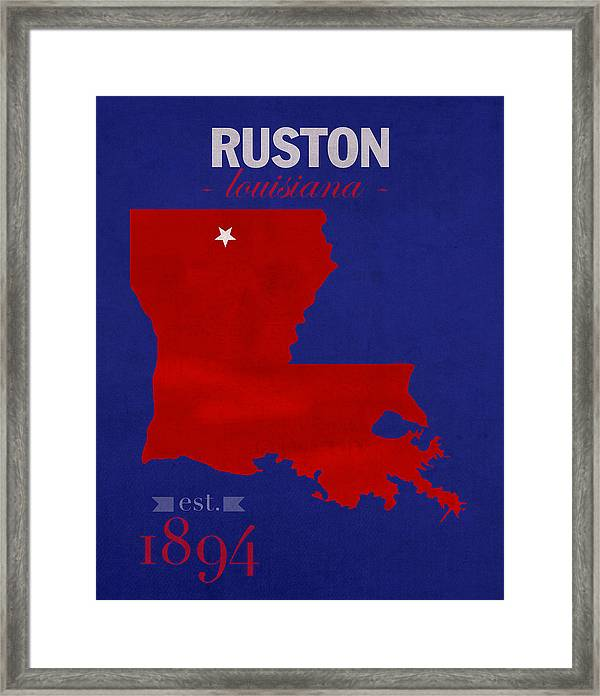 Louisiana Tech University Bulldogs Ruston Louisiana College Town