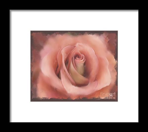 Love Framed Print featuring the painting Love Abides Here by Francine Dufour Jones