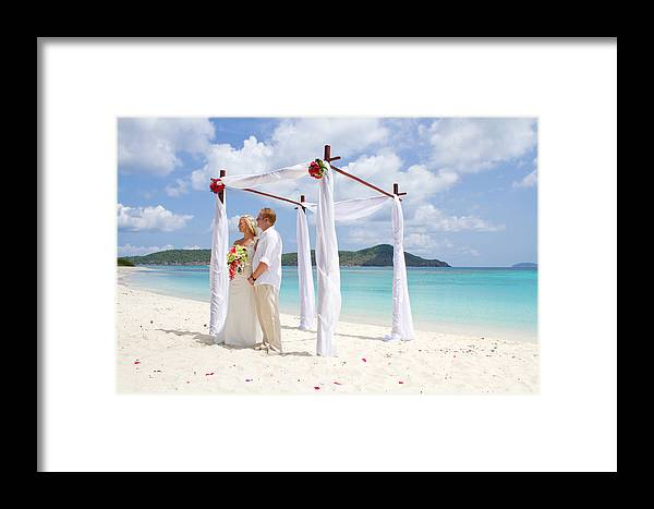 Love Framed Print featuring the photograph Love Ceremony by Jared Shomo