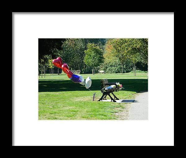 Love Framed Print featuring the photograph Love Never Dies II by Nicki Bennett