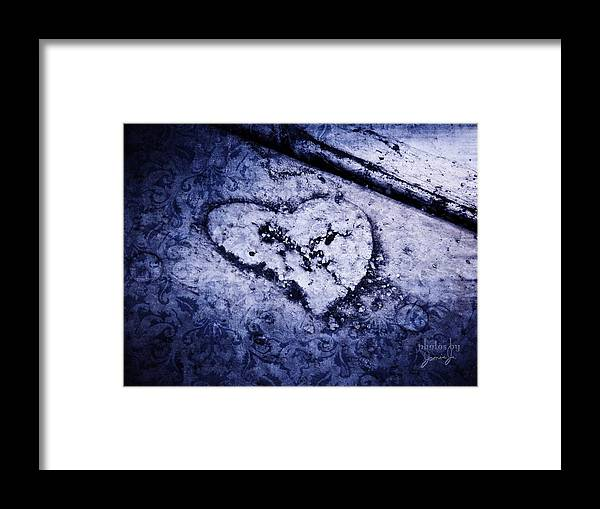 Earth Framed Print featuring the photograph Love Reveals Truth by Jamie Johnson
