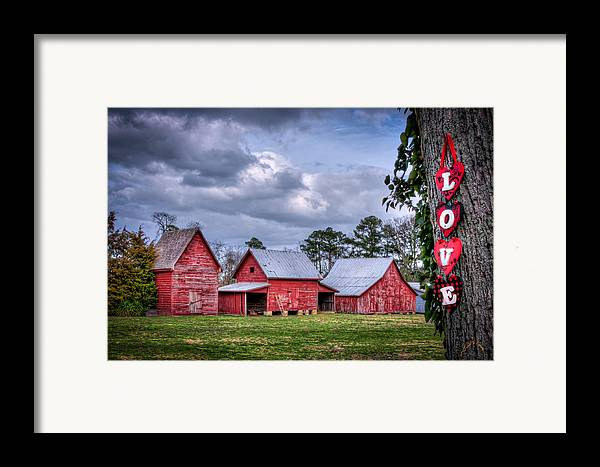 Smithfield Framed Print featuring the photograph Love The Barns At Windsor Castle by Williams-Cairns Photography LLC