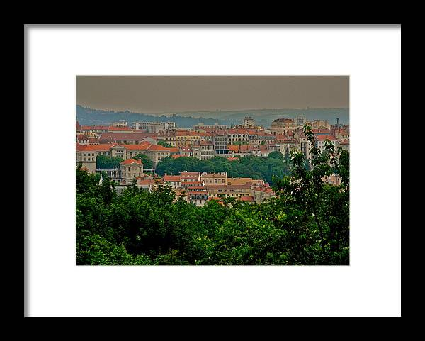 Lovely Lyon Framed Print featuring the photograph Lovely Lyon France by Kirsten Giving