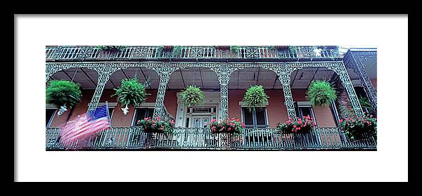 Apartment Framed Print featuring the photograph Low Angle View Of A Historic Building by Murat Taner