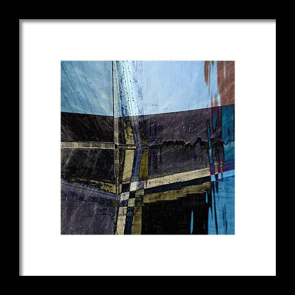 Low Tide Framed Print featuring the photograph Low Tide 4 by Carol Leigh