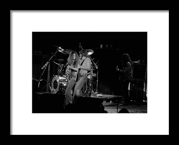 Lynyrd Skynyrd Framed Print featuring the photograph Ls Spo #19 by Ben Upham
