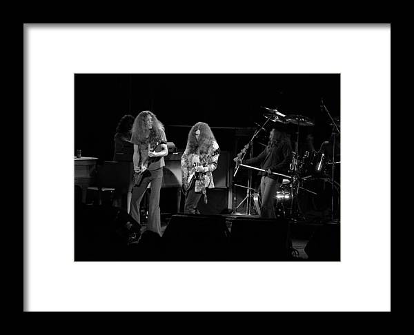 Lynyrd Skynyrd Framed Print featuring the photograph Ls Spo #21 by Ben Upham