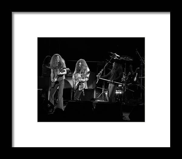 Lynyrd Skynyrd Framed Print featuring the photograph Ls Spo #21 Crop 2 by Ben Upham