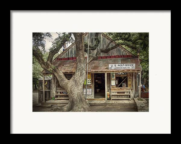 Luckenbach Framed Print featuring the photograph Luckenbach 2 by Scott Norris