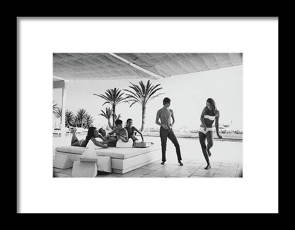 Music Framed Print featuring the photograph Luis And Alvaro Figuerroa With Friends by Henry Clarke