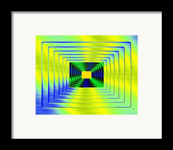 Luminous Energy 18 Framed Print featuring the digital art Luminous Energy 18 by Will Borden