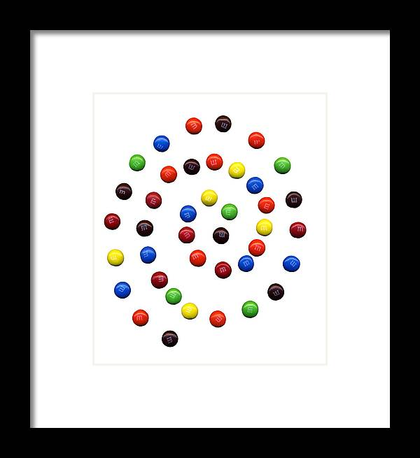 M Framed Print featuring the photograph M And M 1 by Marilyn Hunt