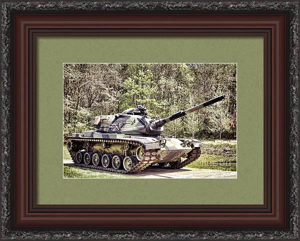 M60 Patton Tank by Olivier Le Queinec