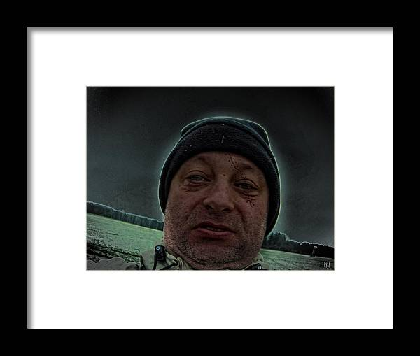 Mac The Knive Framed Print featuring the digital art Mack The Knife Nuarb by Nafets Nuarb